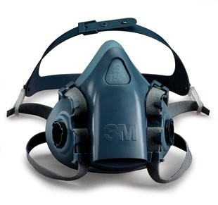 3M™ Reusable Half Face Mask Respirator 7502